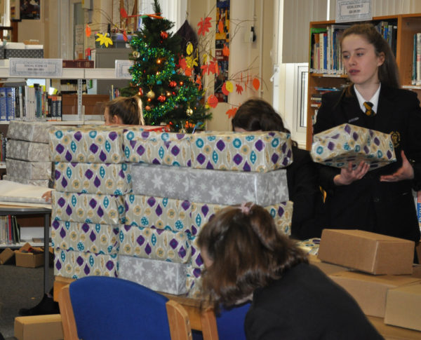 Aspire Christmas Box Appeal