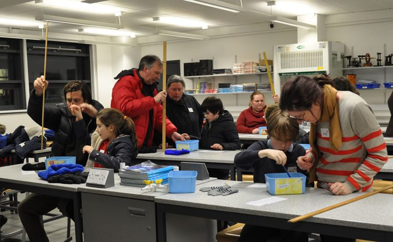 family learning workshop science